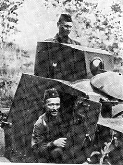 Fadeev and Sholokhov on the Leningrad Front, 1941